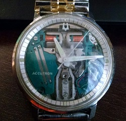 1967 Bulova Accutron Spaceview G watch
