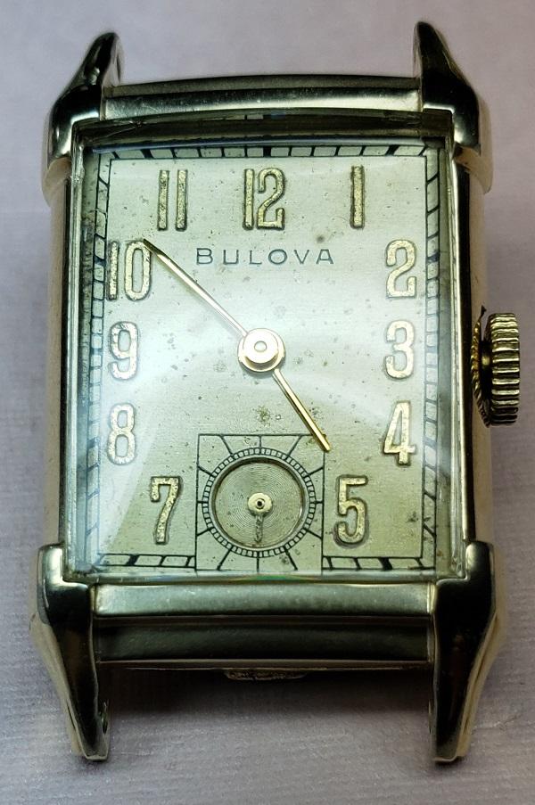 1946 Bulova Statesman watch