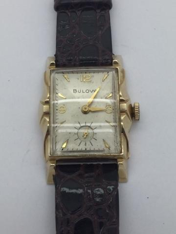 1950 Bulova Brunswick watch