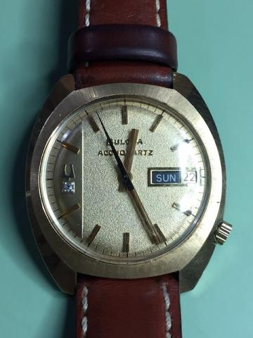 1974 Bulova Accuquartz watch