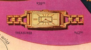 Bulova Treasurer watch advert