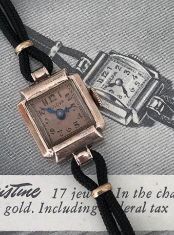1943 Bulova Christine B watch