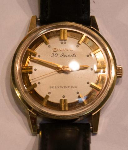 1969 Bulova Commander D watch