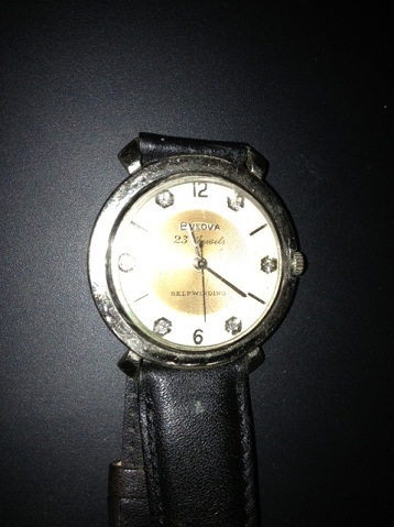 Bulova Beau Brummel watch
