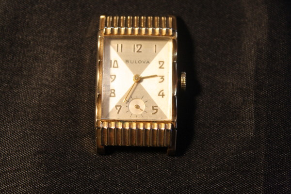 1950 Academy Award Q Bulova watch