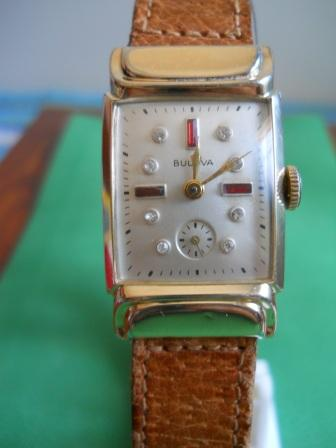 1951 Bulova Beau Brummel watch