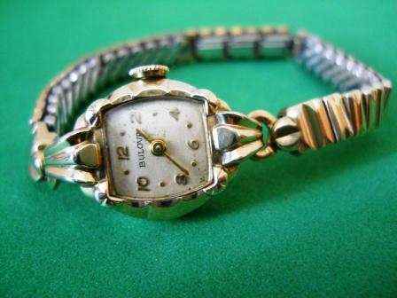 1955 Bulova Miss America watch
