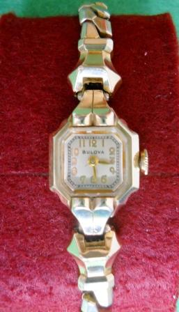 1947 Bulova Her Excellency watch