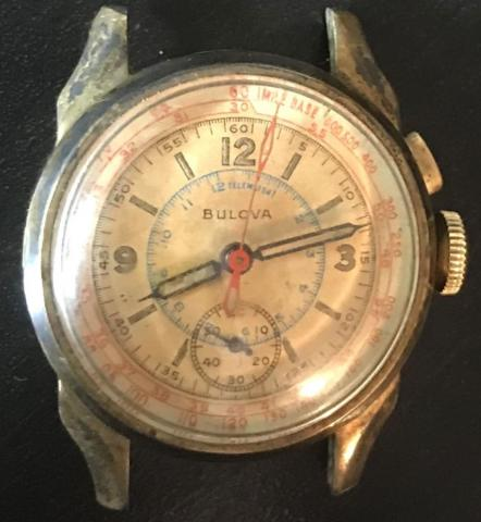1943 Bulova Chronograph watch 1