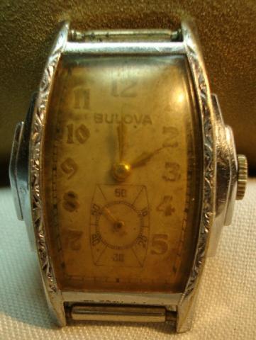 1937 Bulova Ben Hur watch