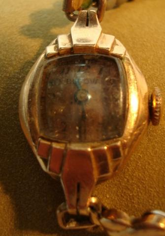 1945 Bulova Thelma watch