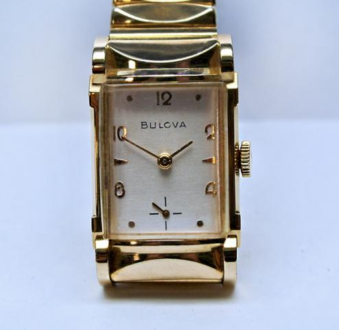 1954 Bulova Jefferson watch