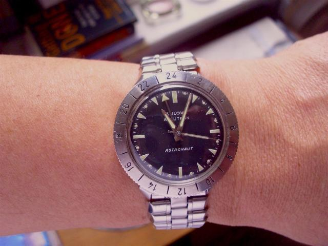 1966 Bulova Accutron Astronaut watch