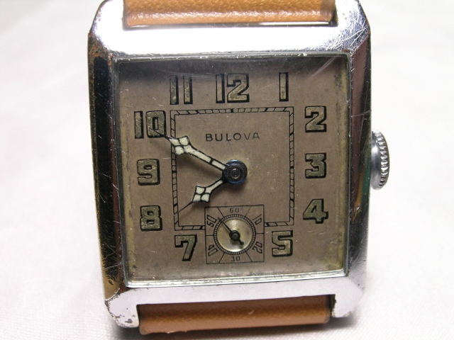 1929 Bulova Envoy watch