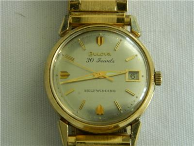 1964 Date King Bulova watch