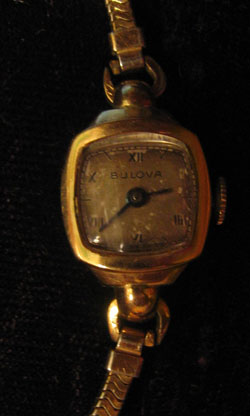 1945 ladies Bulova watch