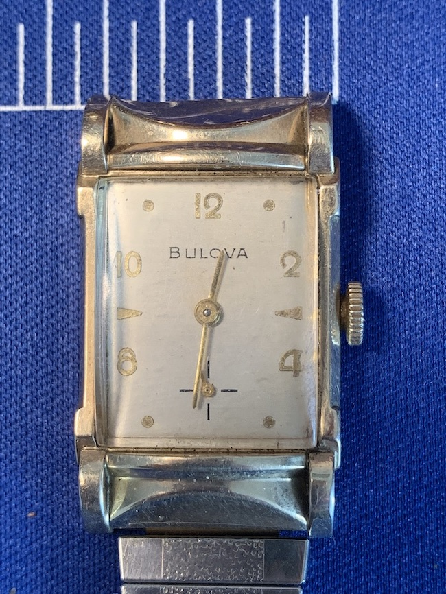 [1955] Bulova Jefferson watch