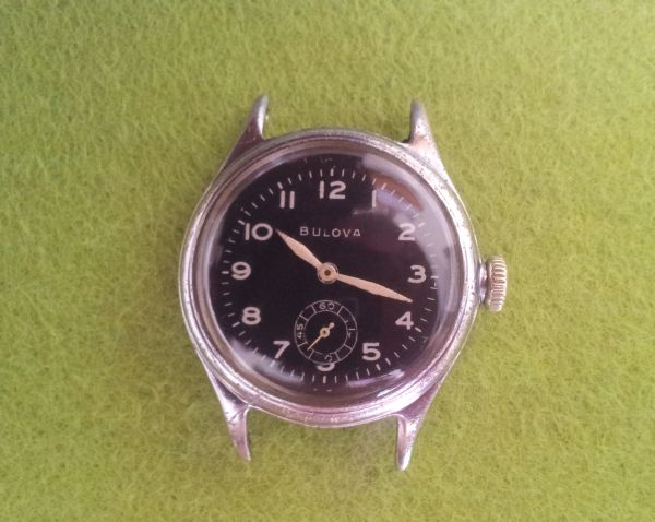 Bulova non issue military watch