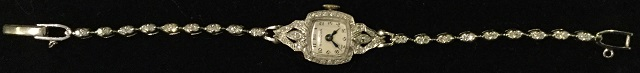 1938 Bulova Gilda Ladies Watch
