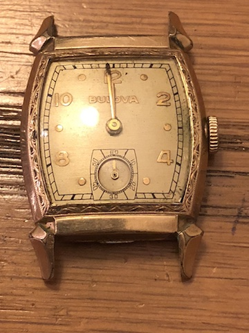 1947 Bulova Cadet D watch