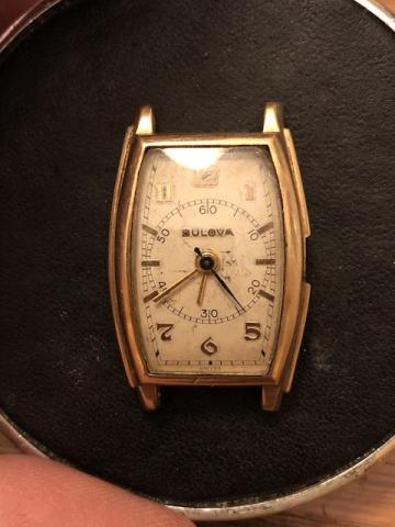 1940 Bulova Physician watch
