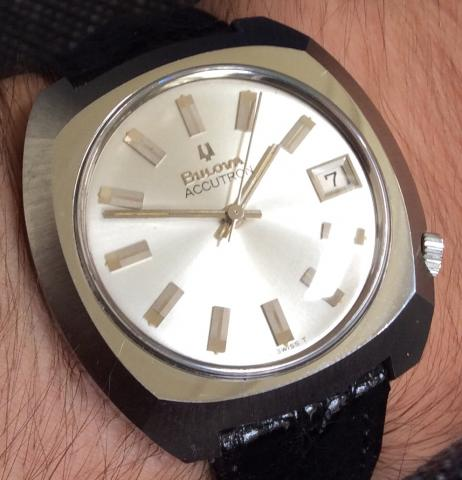 1971 Bulova Accutron Calendar watch