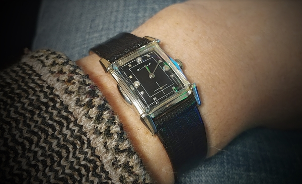 1955 Bulova Clifton watch