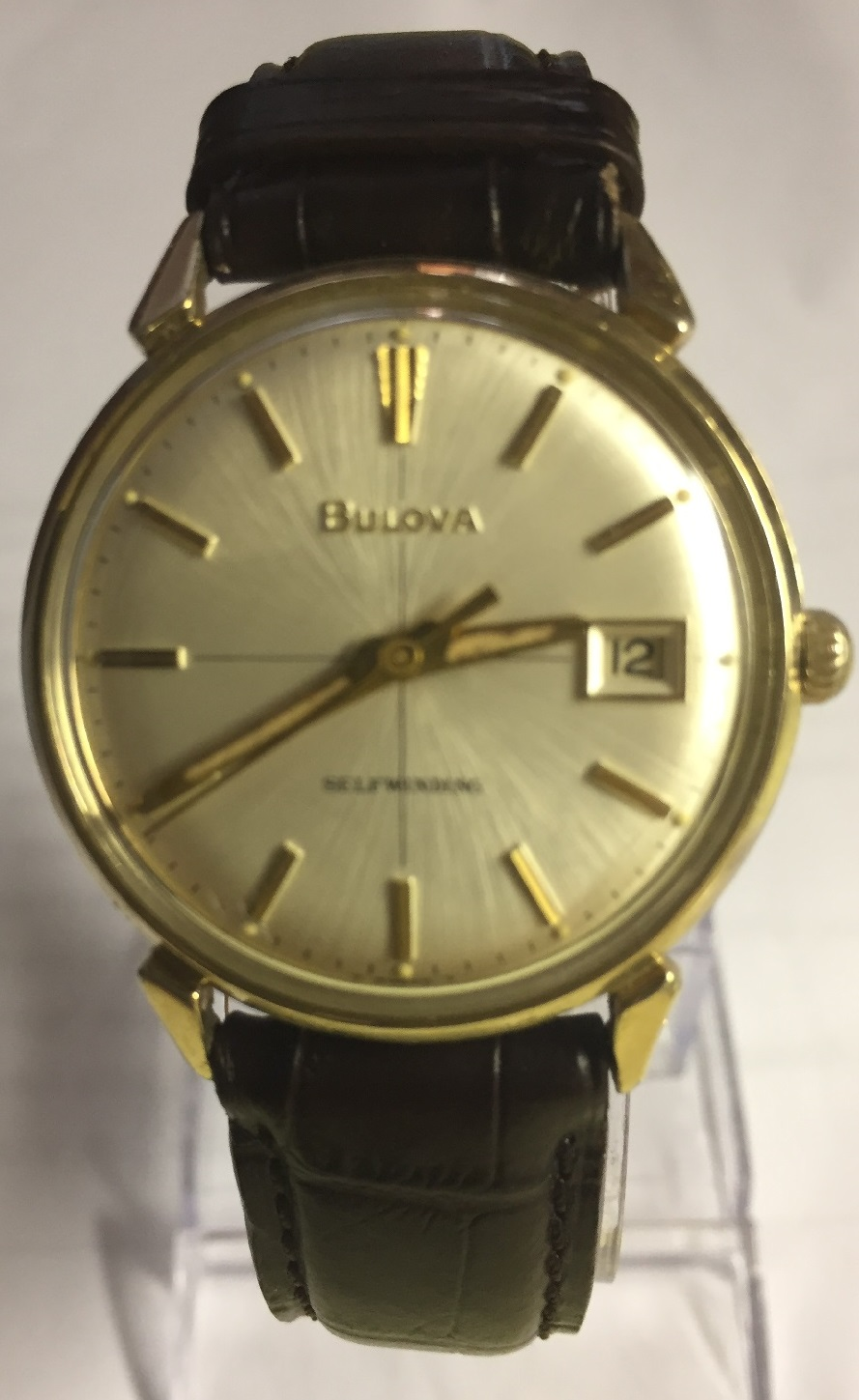 1967 Bulova date king watch