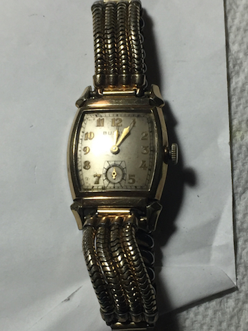 1941 Bulova Ranger watch