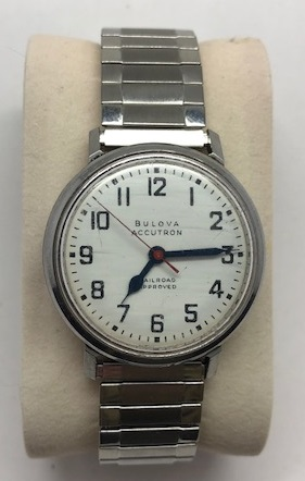 1967 Bulova Accutron railroad 262  watch