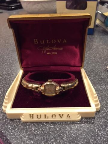 1900 Bulova Evangeline watch
