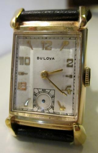 1947 Bulova His Excellency GG watch