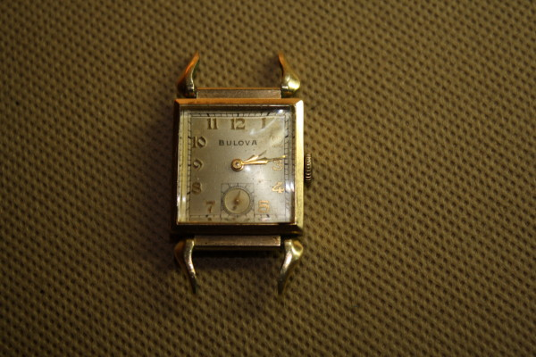 1949 Bulova Conrad watch