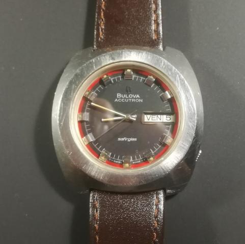 1971 Bulova Accutron Date and Day watch