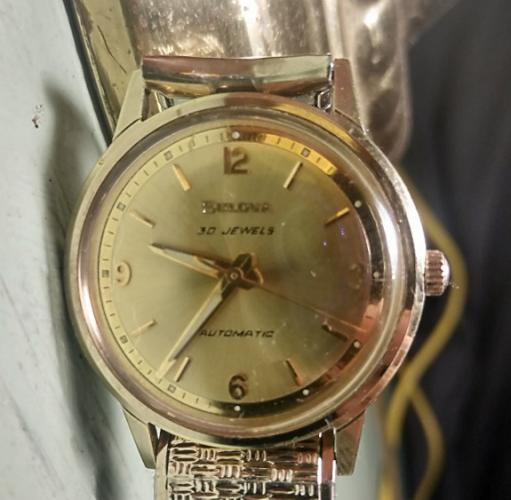 1969 Bulova Commander watch