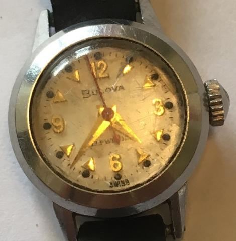 [field_year-1957] Bulova watch