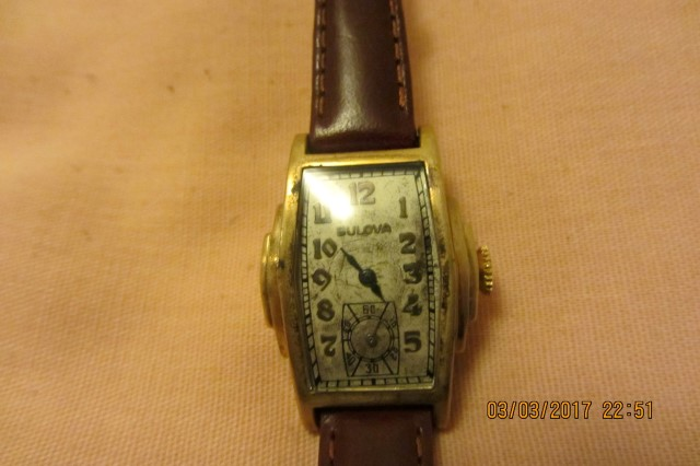 Non Conforming Bulova watch