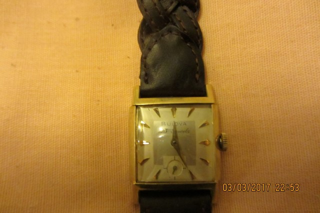 1965 Bulova Brigadier watch