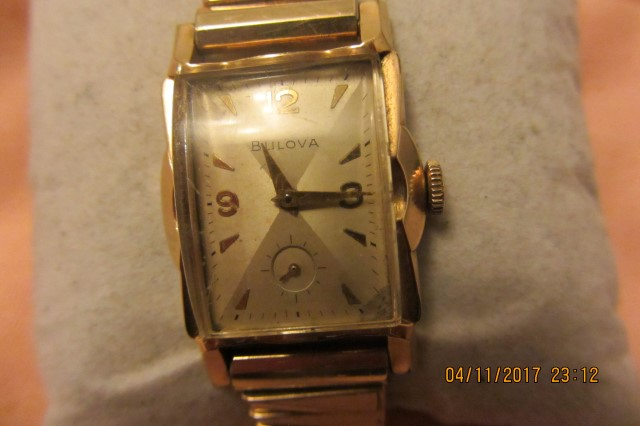 1959 Bulova Lexington B watch