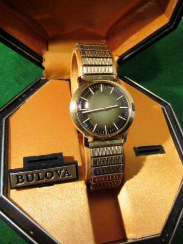 1971 Bulova Citizen watch
