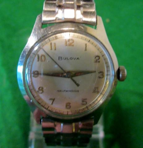 1966 Bulova Clipper A watch