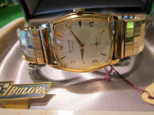 1959 Bulova SVP watch