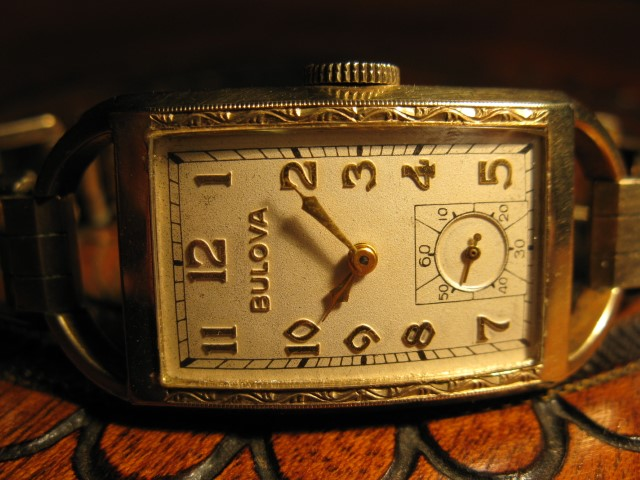 1939 Bulova America Eagle watch