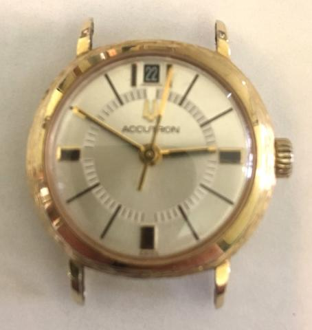 1972 Bulova Accutron Mini Q watch