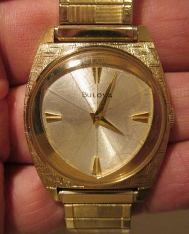 1963 Bulova American Eagle F watch