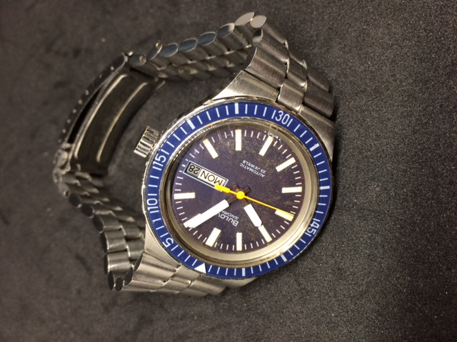 1978 Bulova Oceanographer watch