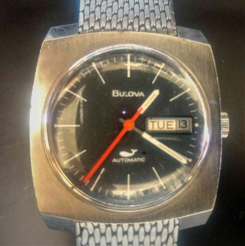 1970 Bulova Golden Clipper G watch