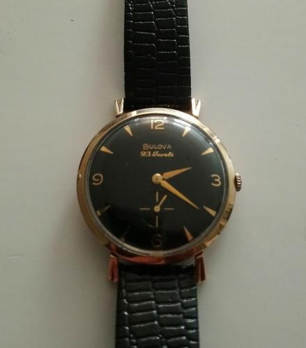 1958 Bulova His Excellecy watch