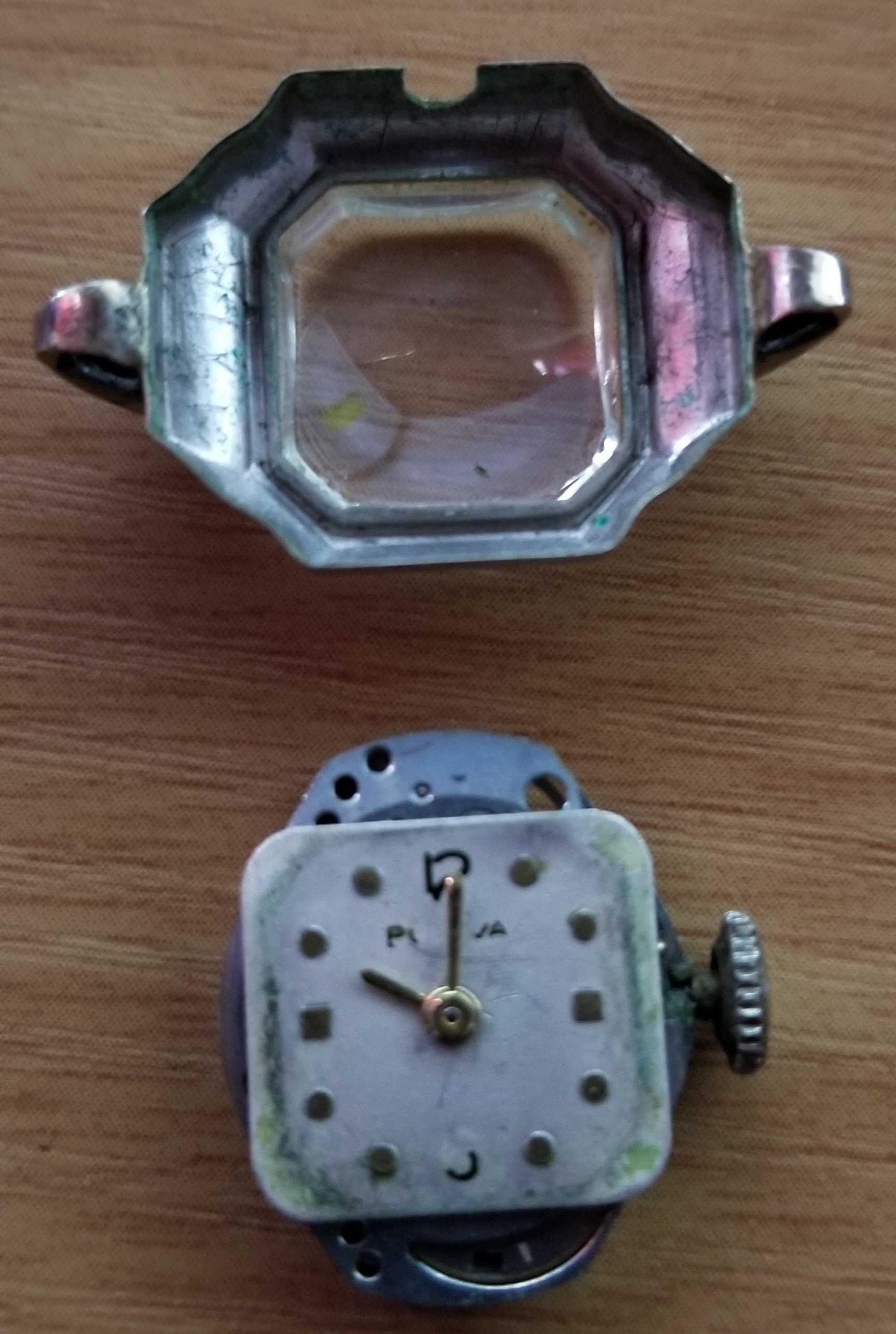 Face and case of Ladies 1947 Bulova watch