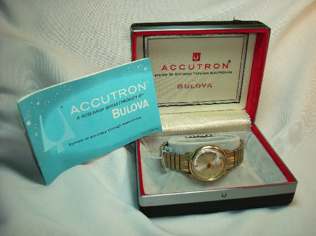 1965 Bulova Accutron 410 watch